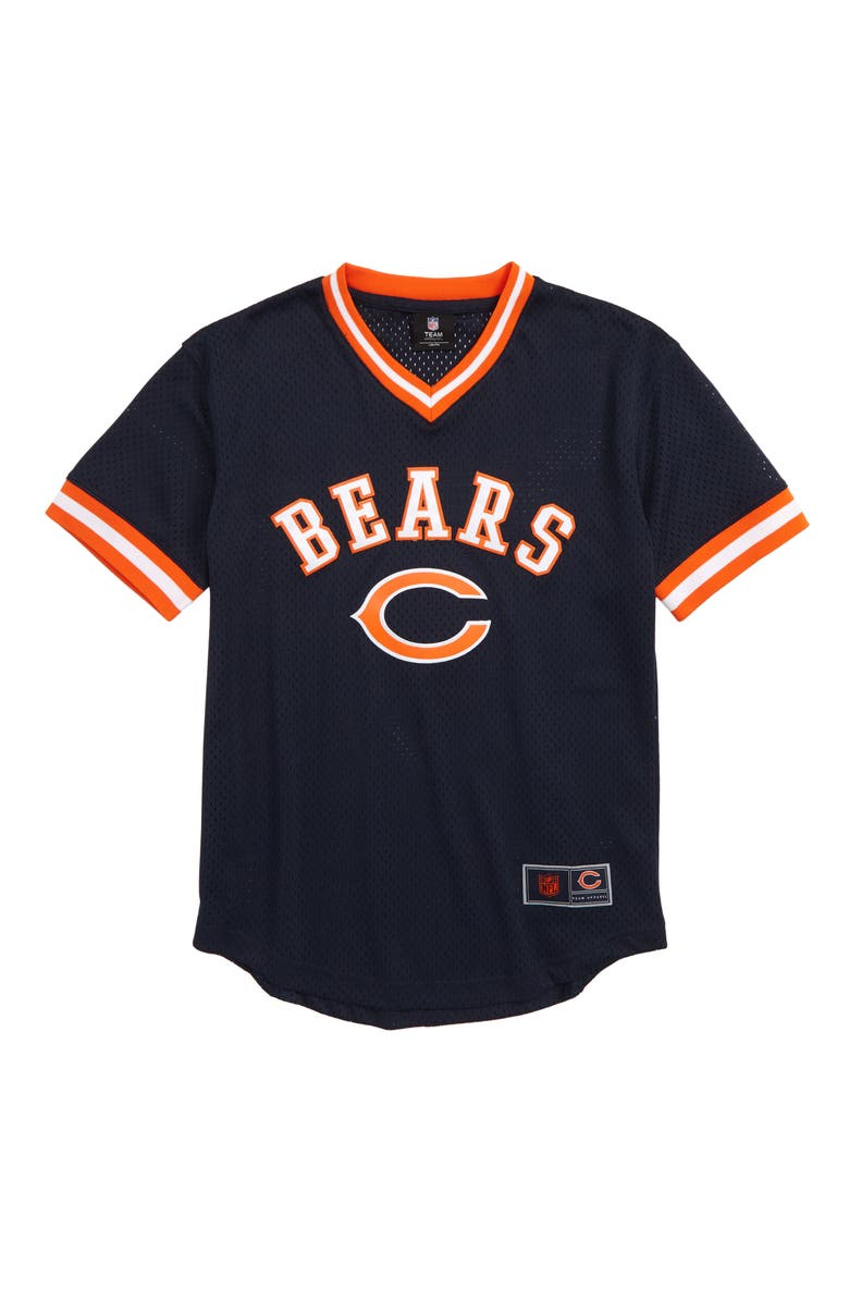 OUTERSTUFF Chicago Bears Mesh Football Jersey, Main, color, NAVY