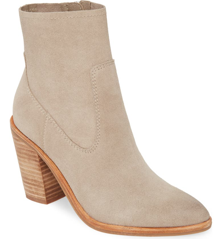 TREASURE & BOND Harrison Bootie, Main, color, GREY SUEDE