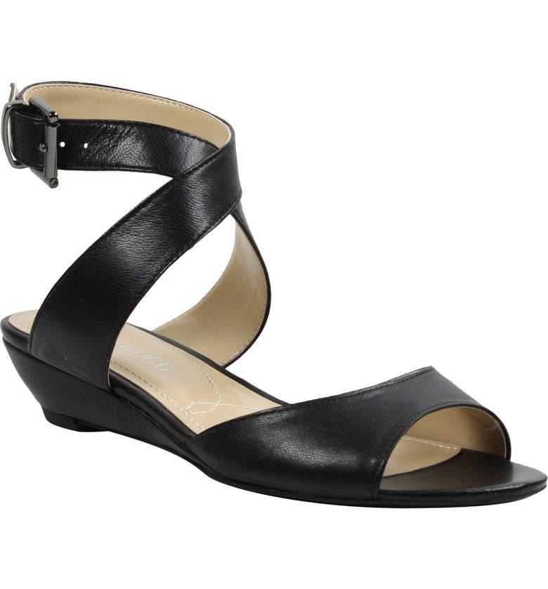 J Rene Belden Ankle Wrap Sandal Women