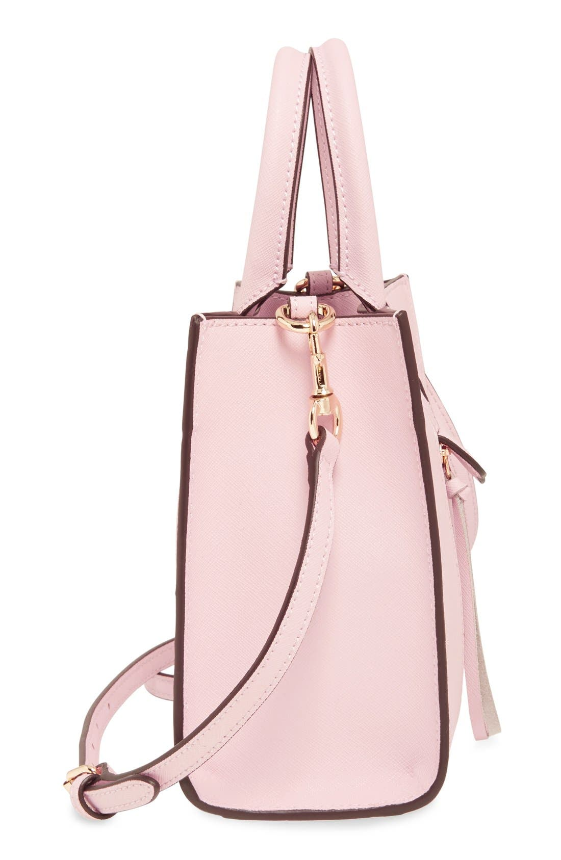 ,                             'Mini MAB Tote' Crossbody Bag,                             Alternate thumbnail 123, color,                             656