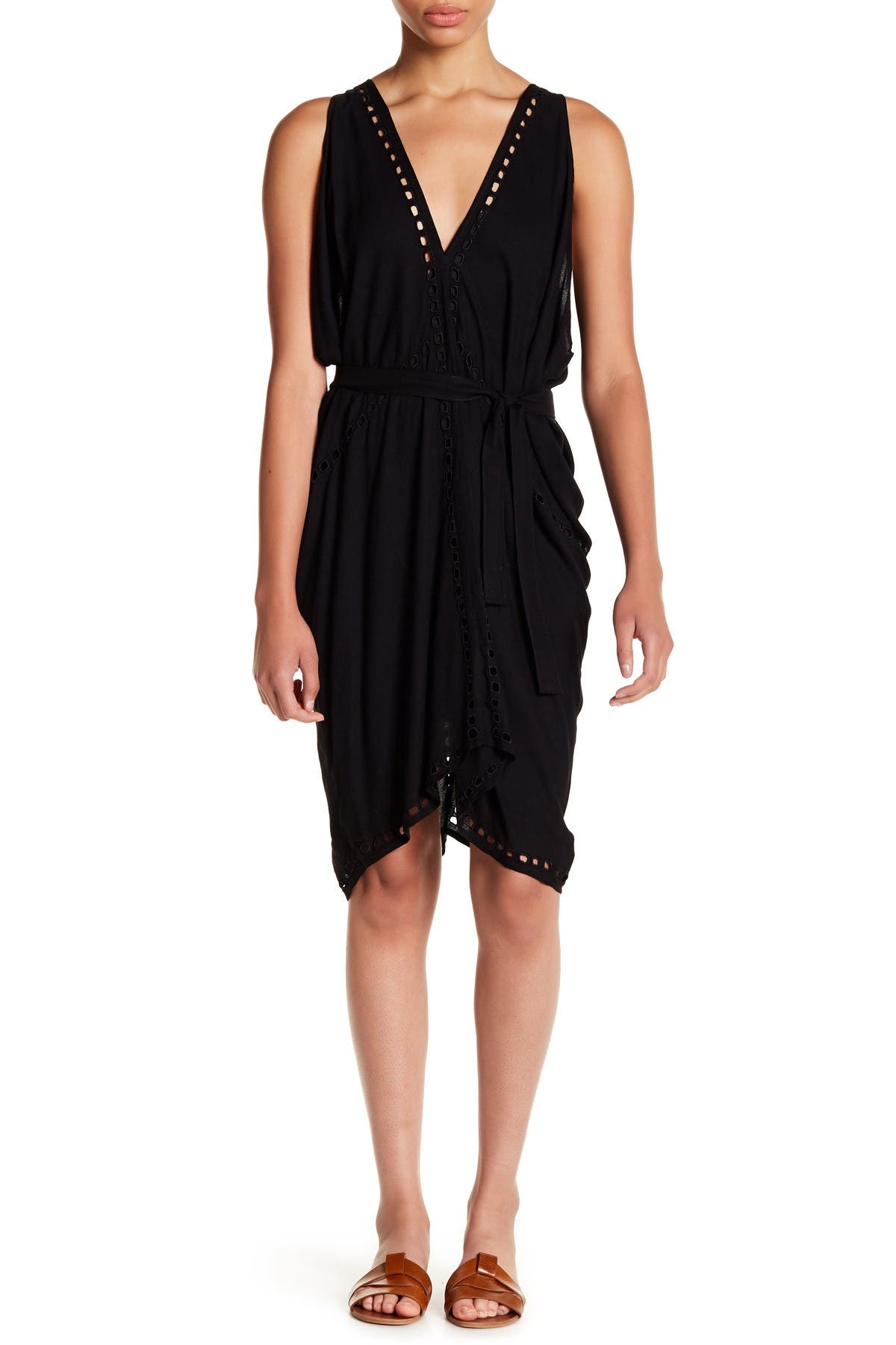 Image of Tiare Hawaii Pert Plunge Eyelet Dress