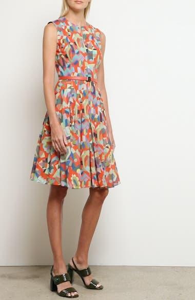 Summer Print Cotton Voile Dress, video thumbnail