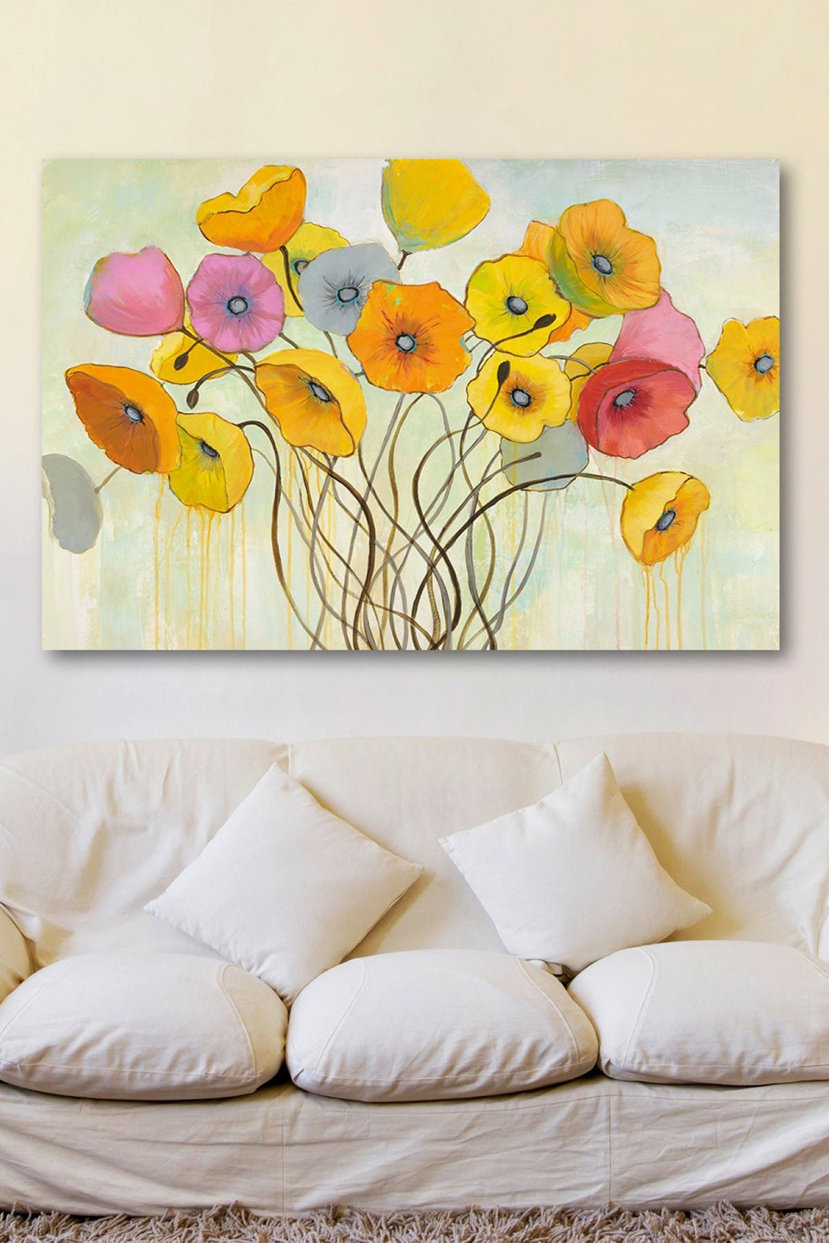 "Image of Marmont Hill Inc. Spring Harmony Painting Print on Wrapped Canvas - 36"" x 24"""