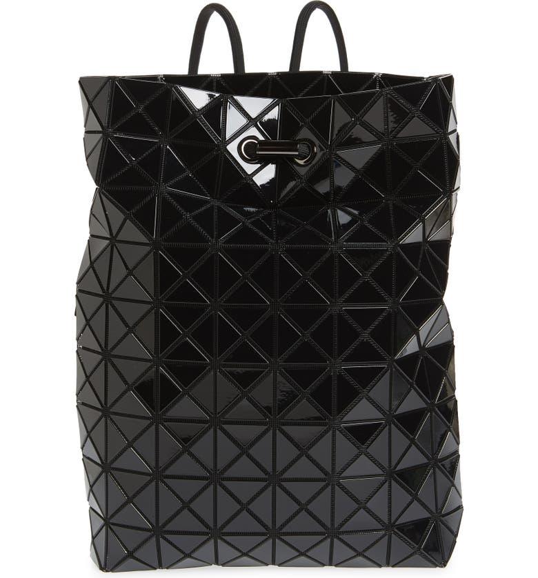BAO BAO ISSEY MIYAKE Wring Flat Backpack, Main, color, BLACK