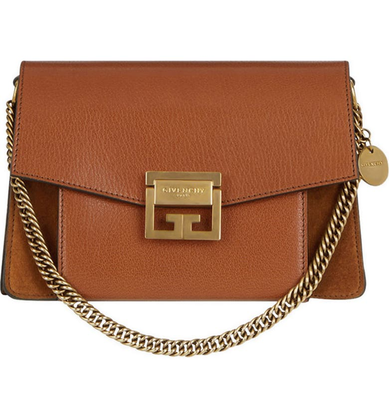 f5fe9e5831e75 Givenchy Small GV3 Leather & Suede Crossbody Bag   Nordstrom