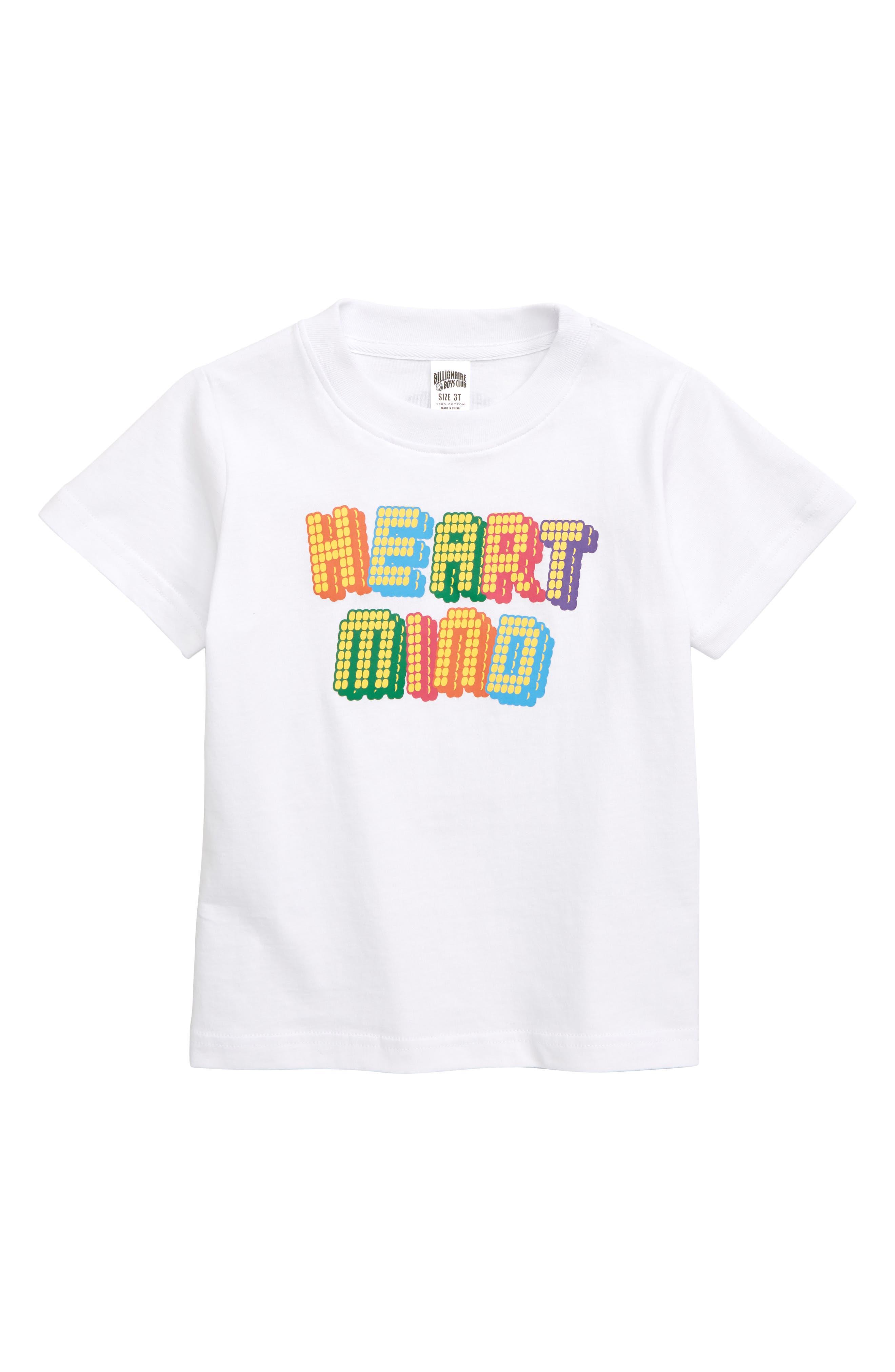 Fun Slide Graphic T-Shirt, Main, color, WHITE