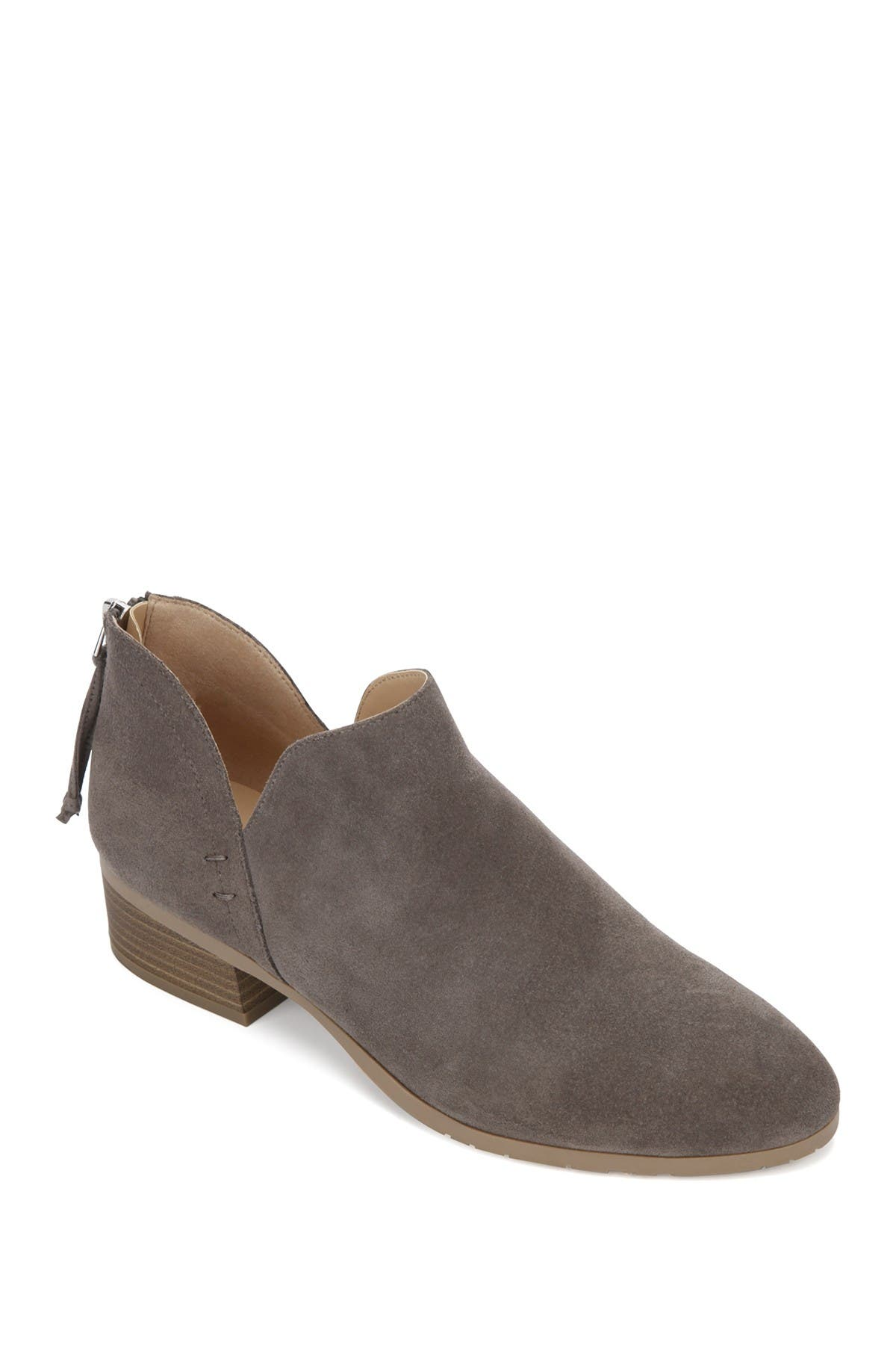 Image of Kenneth Cole Reaction Side Skip Suede Ankle Boot