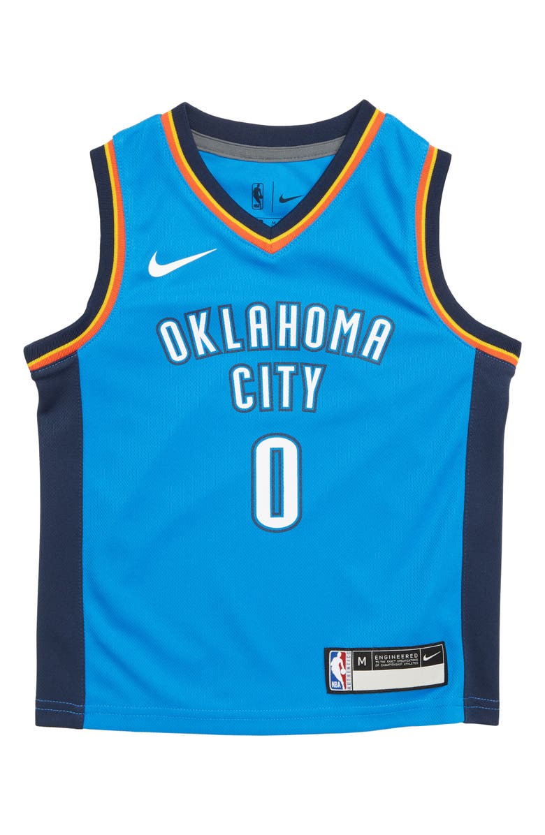 new concept 93adf 2c914 Nike Oklahoma City Thunder Russell Westbrook Basketball ...