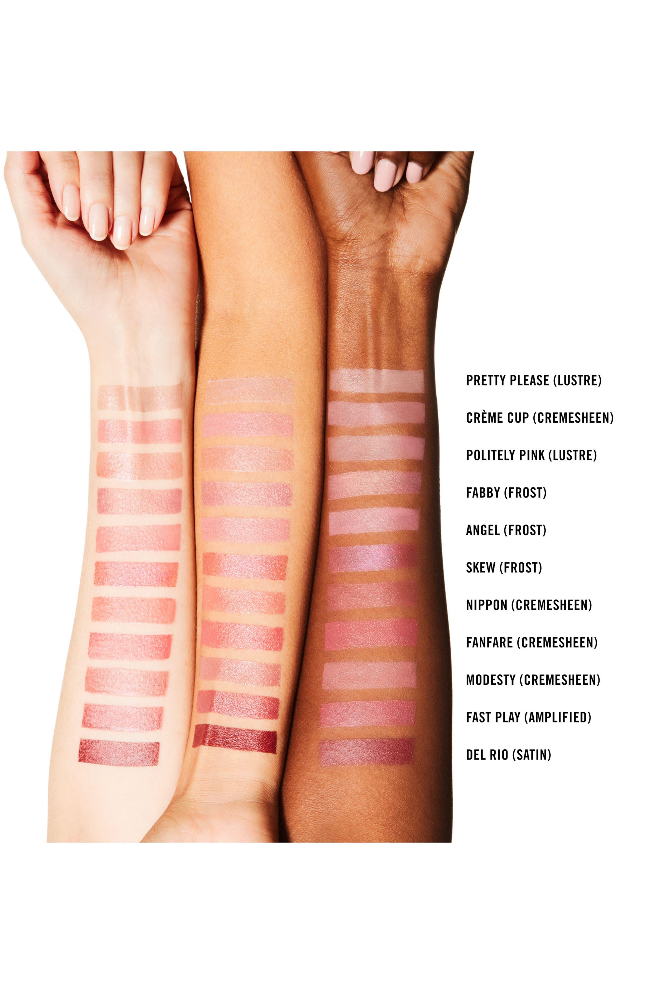 ,                             MAC Pink Lipstick,                             Alternate thumbnail 3, color,                             CREME CUP (C)