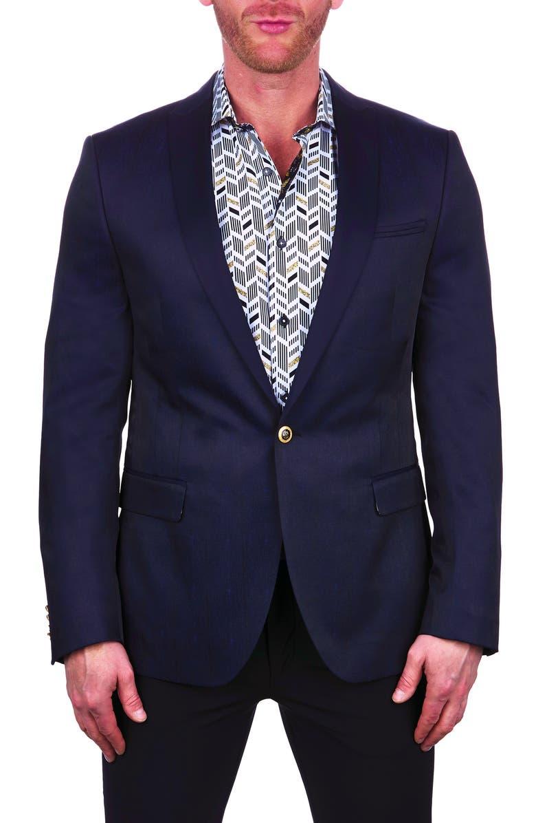 MACEOO Tesla Blue Blazer, Main, color, 420
