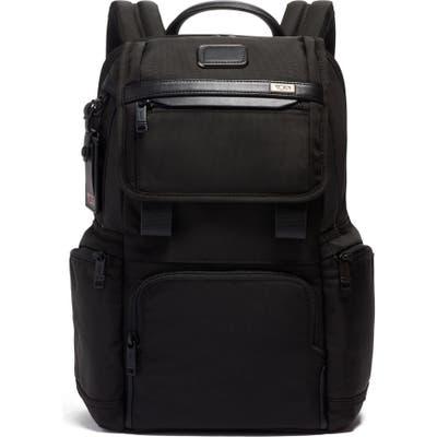 Tumi Alpha 3 Flap Backpack - Black