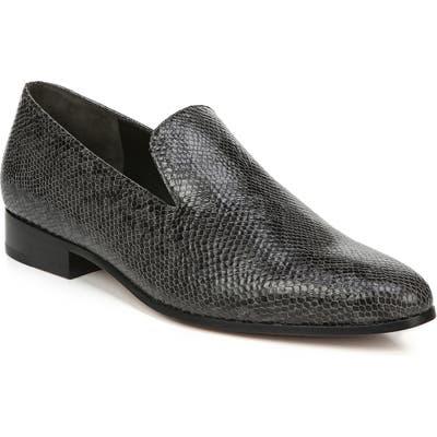 Vince Lela Pointy Toe Loafer- Grey