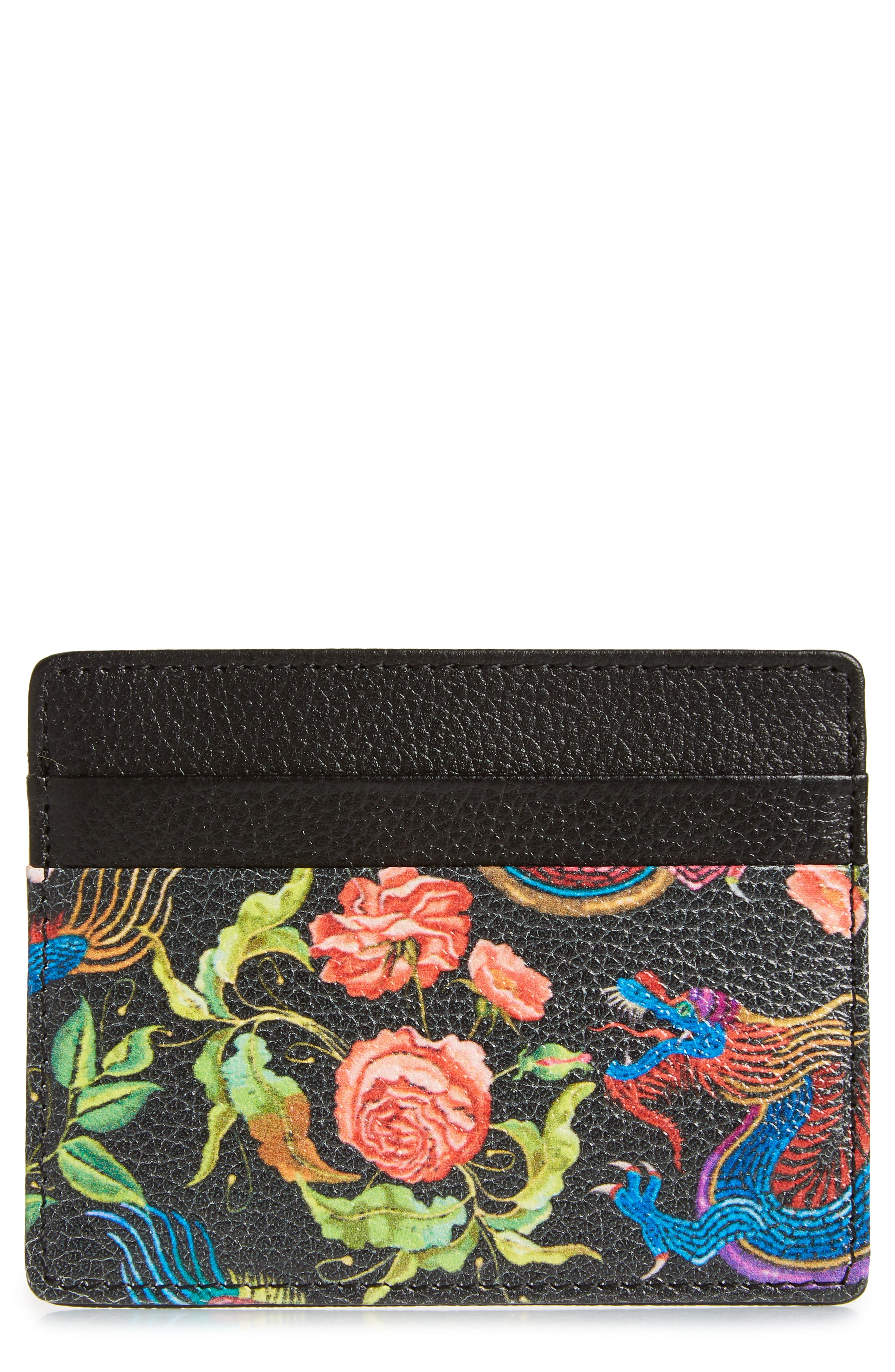 ,                             Jamie Leather Card Case,                             Main thumbnail 7, color,                             005