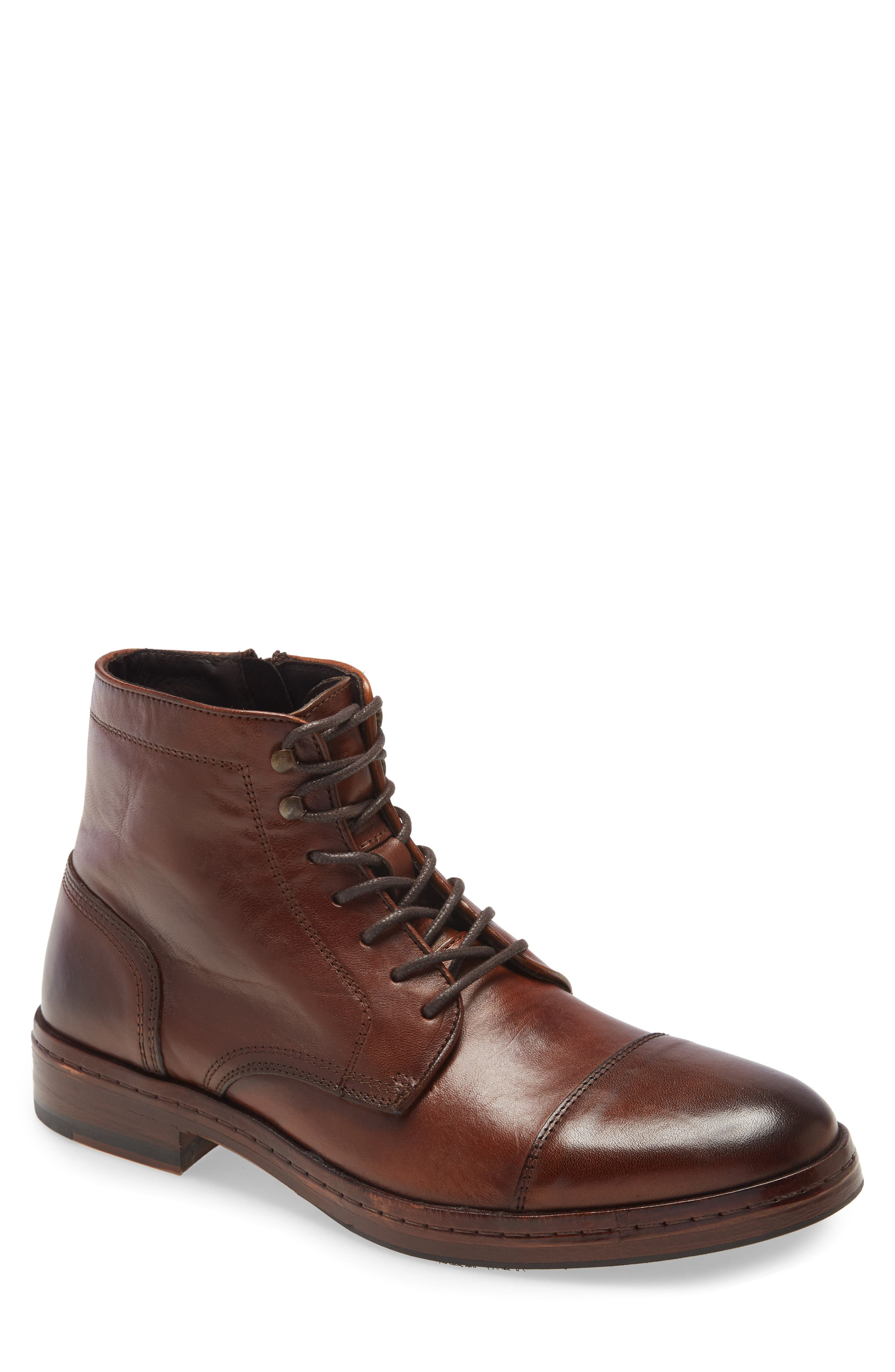Langley Cap Toe Boot