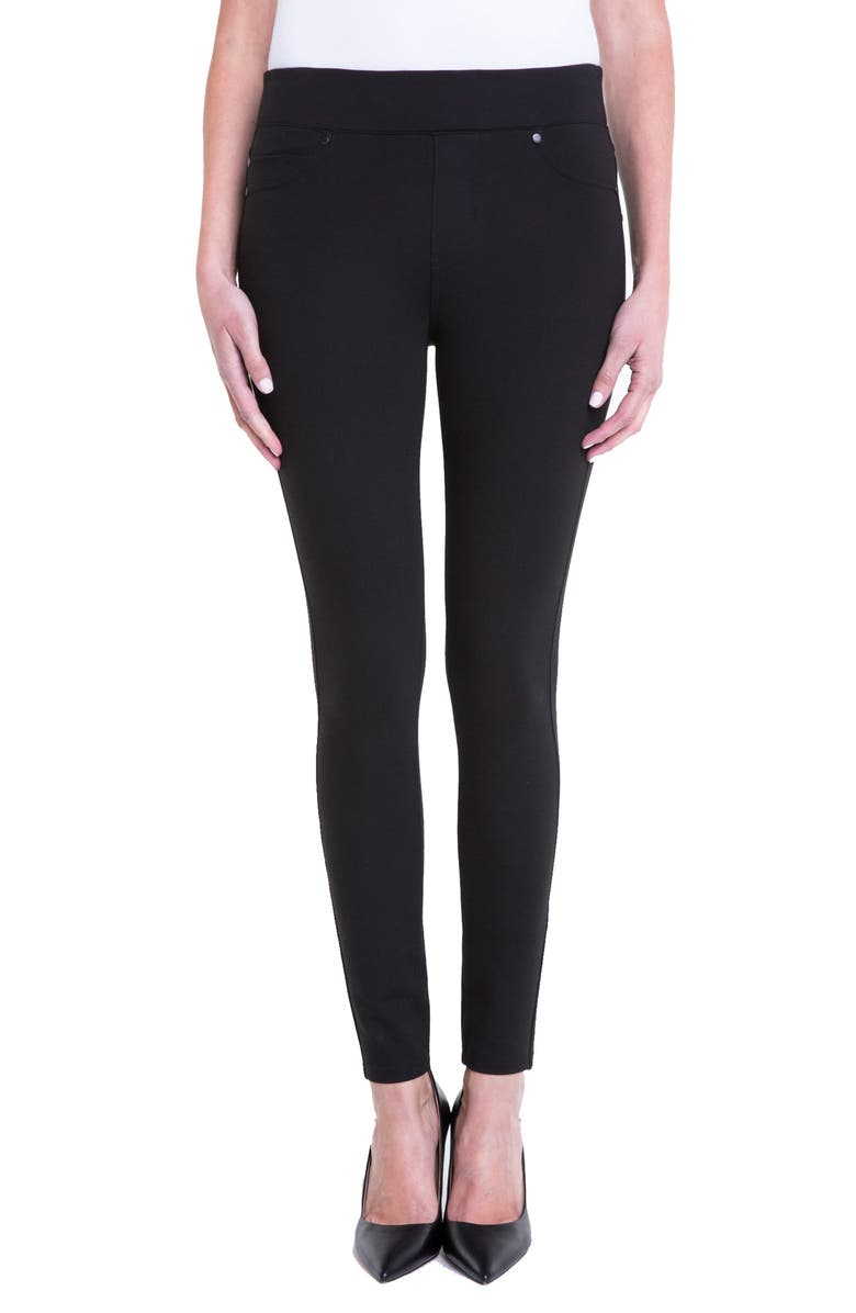 LIVERPOOL Piper Hugger Leggings, Main, color, 001