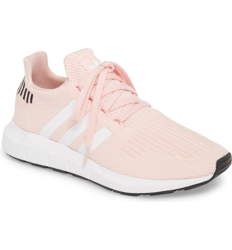 ADIDAS Swift Run Sneaker, Main, color, ICEY PINK/ WHITE/ BLACK