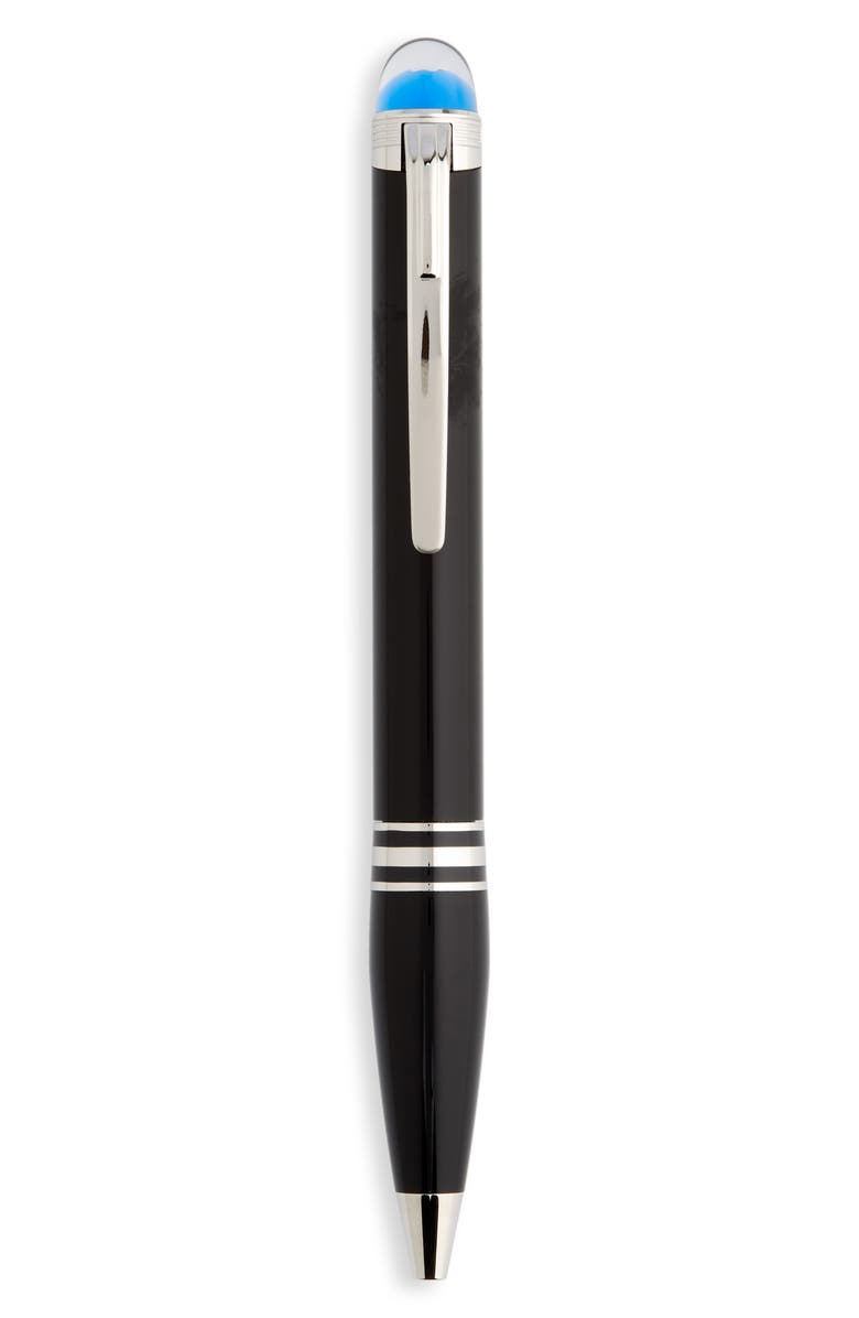 MONTBLANC StarWalker Resin Ballpoint Pen, Main, color, BLACK