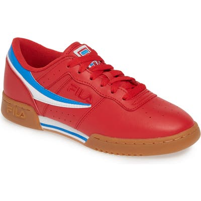 Fila Original Fitness Sneaker, Red