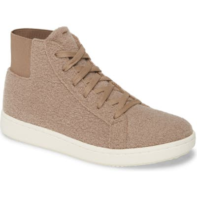 Eileen Fisher Gaze High Top Sneaker- White