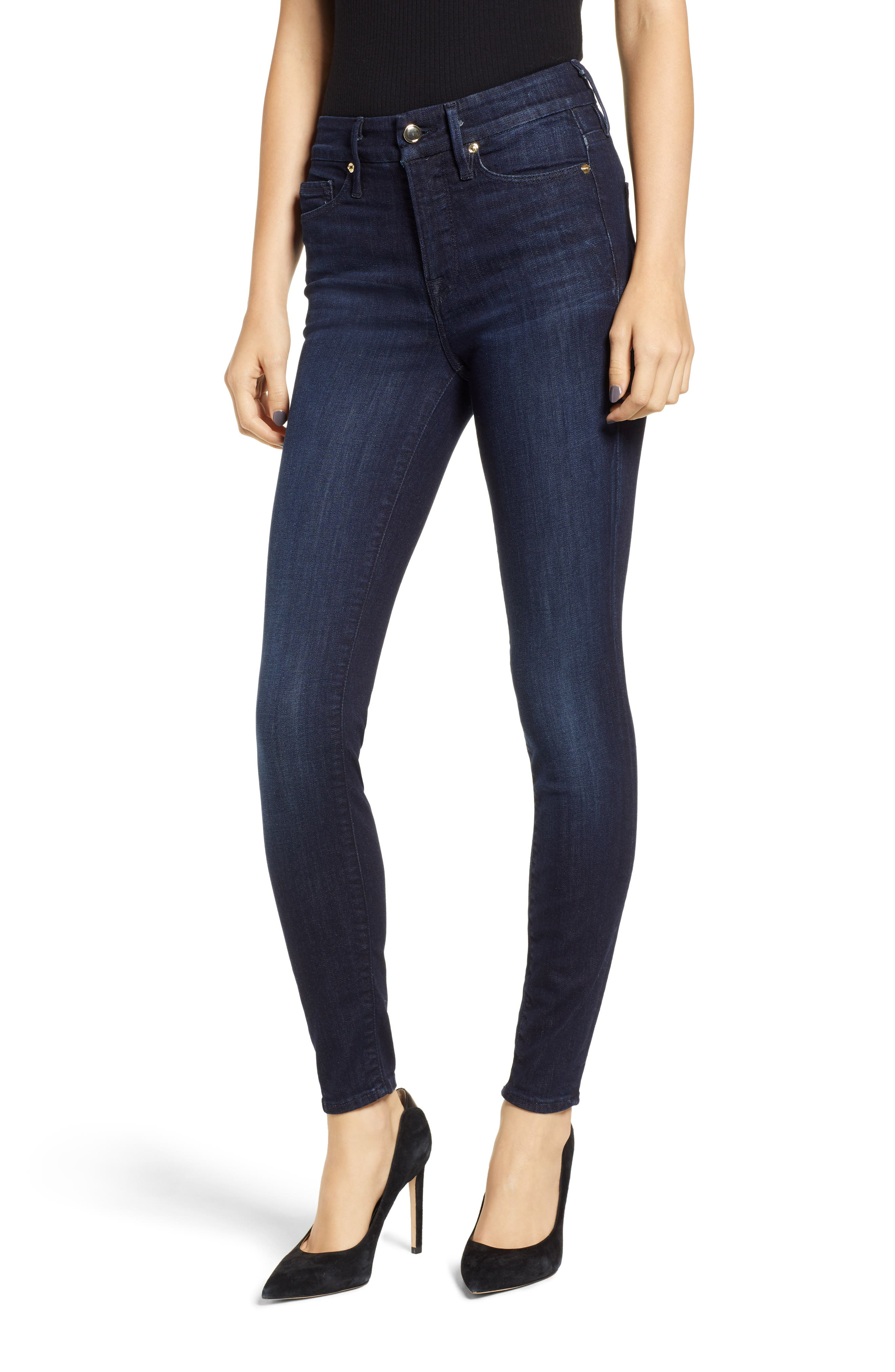 ,                             Good Legs High Waist Skinny Jeans,                             Main thumbnail 35, color,                             406