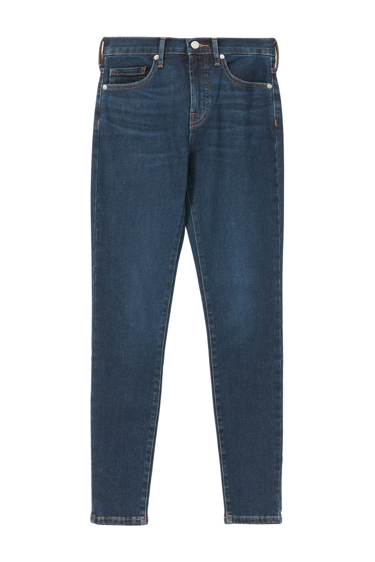 Image of EVERLANE The Authentic Stretch Mid-Rise Skinny