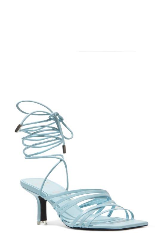 Black Suede Studio Sandals FRANCA STRAPPY SANDAL