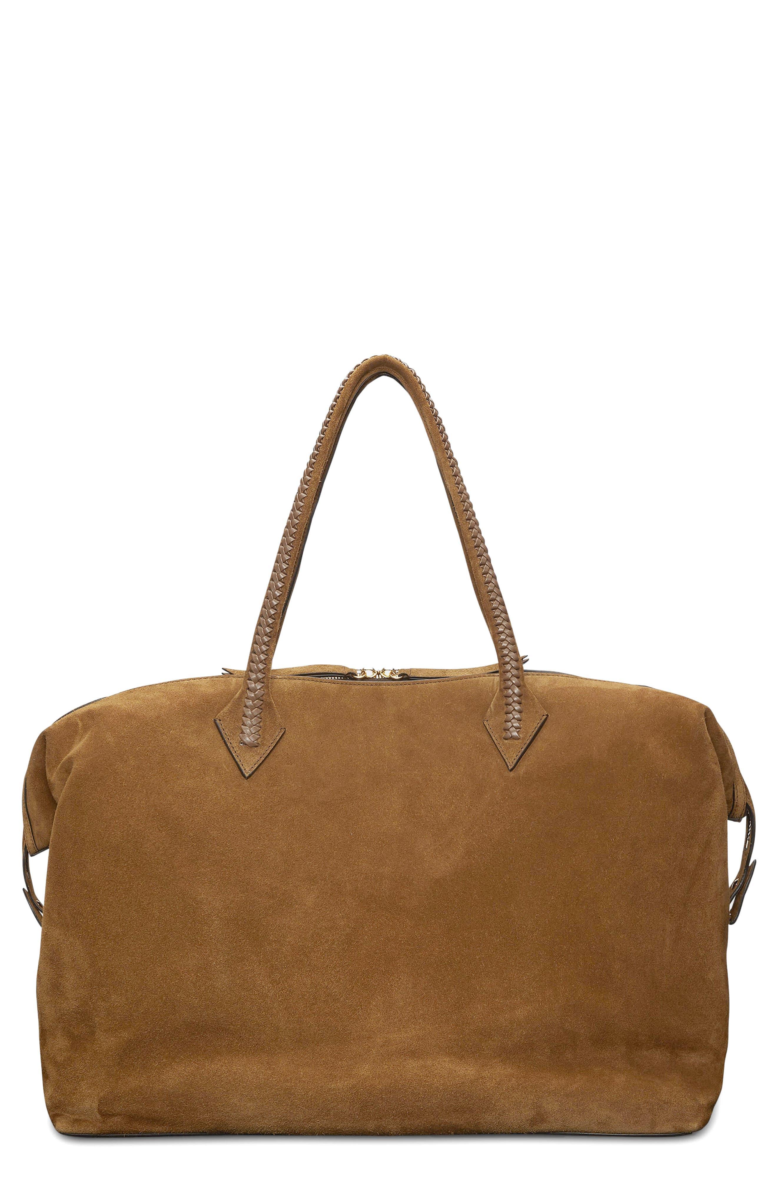 Perriand Suede Weekend Bag