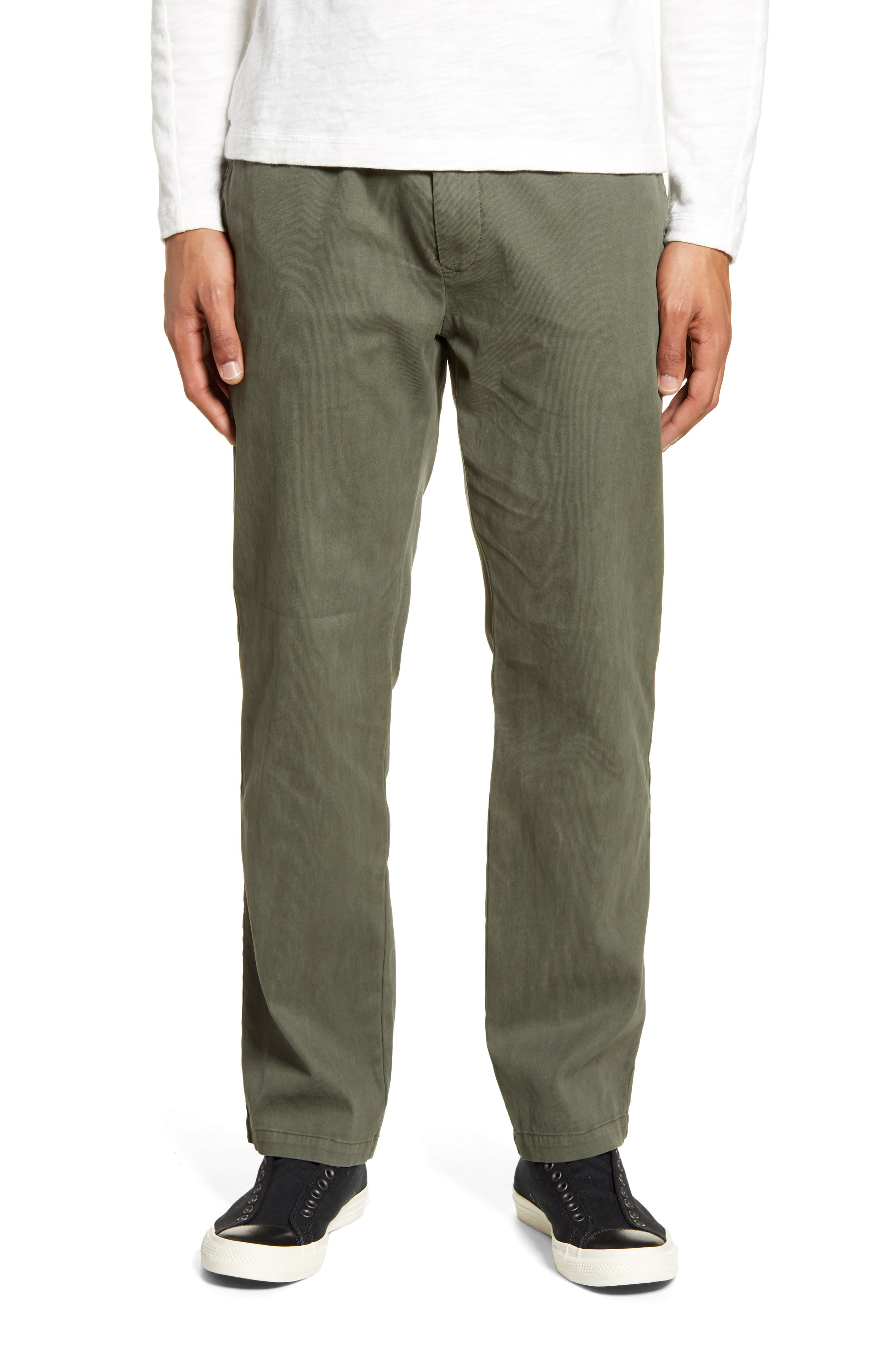 Image of BALDWIN Wakeman Slim Fit Drawstring Pants