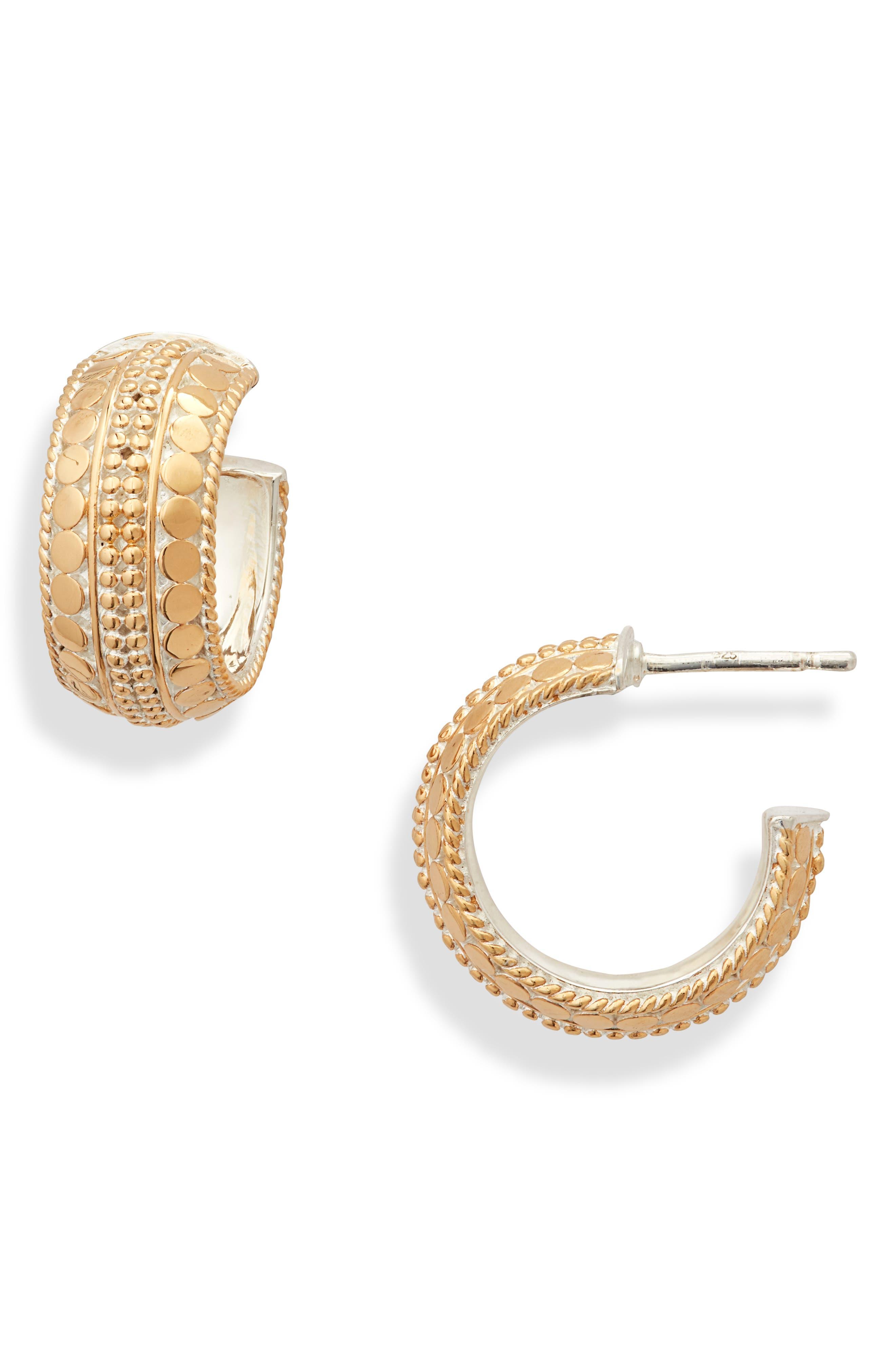 Beaded Hoop Earrings (Nordstrom Exclusive)