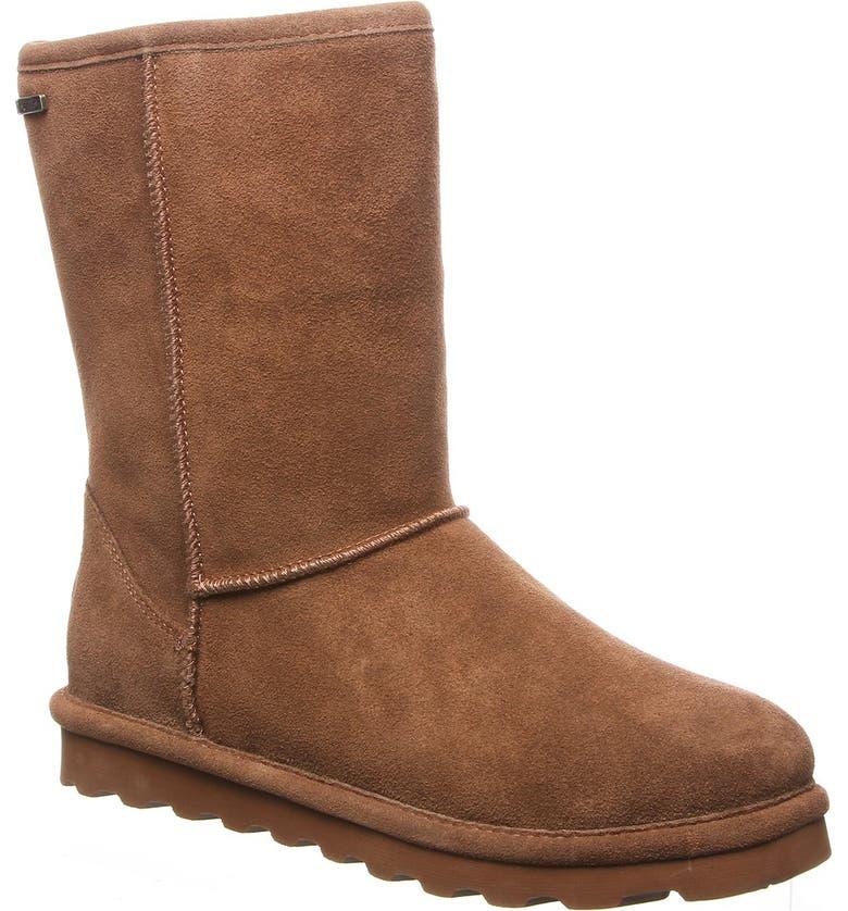 BEARPAW Helen Genuine Sheepskin & Wool Lined Suede Boot, Main, color, HICKORY I