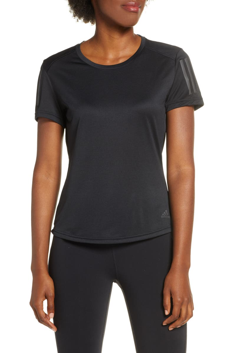 ADIDAS Own the Run Climalite<sup>®</sup> Tee, Main, color, 001