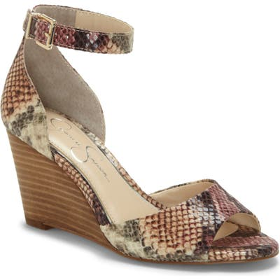 Jessica Simpson Cervena Wedge Sandal, Pink