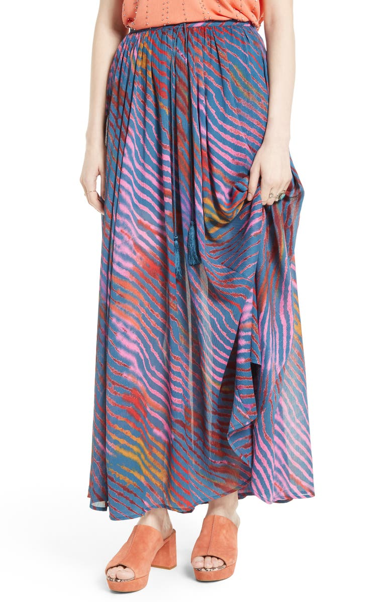 FREE PEOPLE True To You Maxi Skirt, Main, color, 410