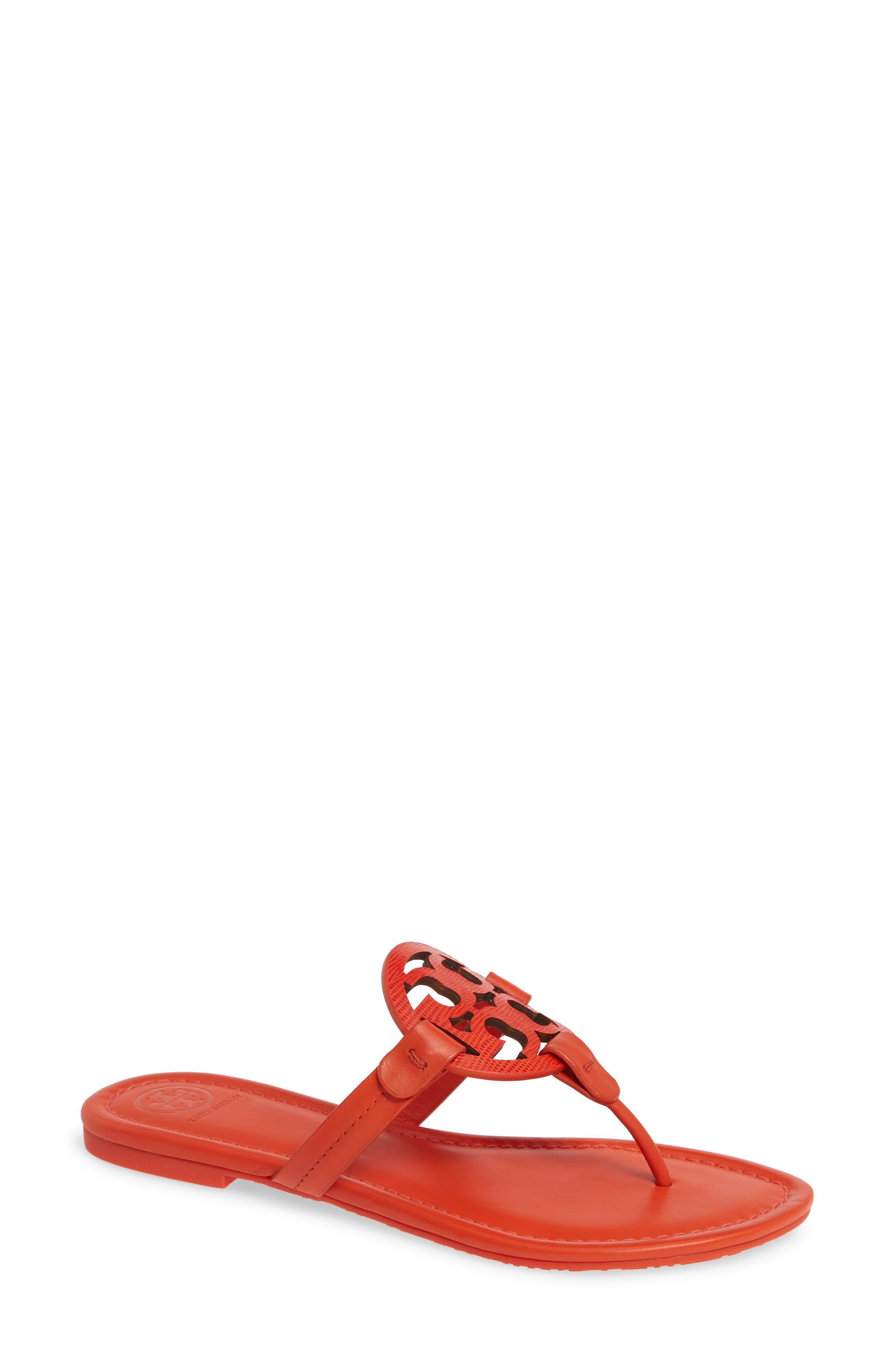 Tory Burch Miller Flip Flop- Orange