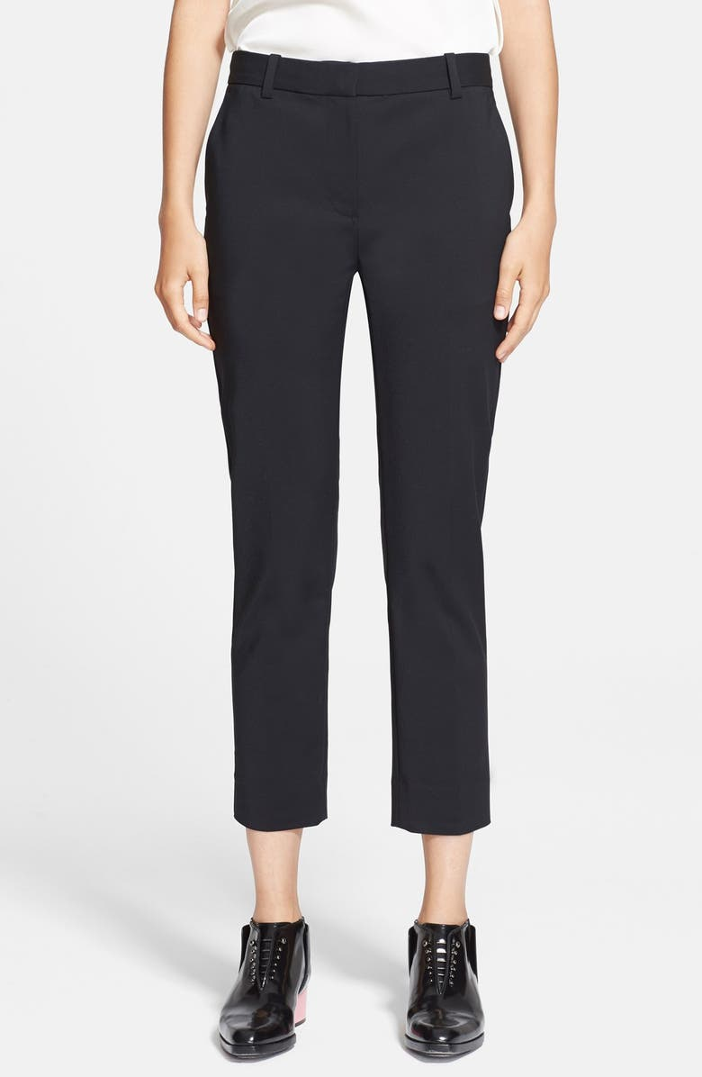 3.1 PHILLIP LIM Crop Pencil Pants, Main, color, 001