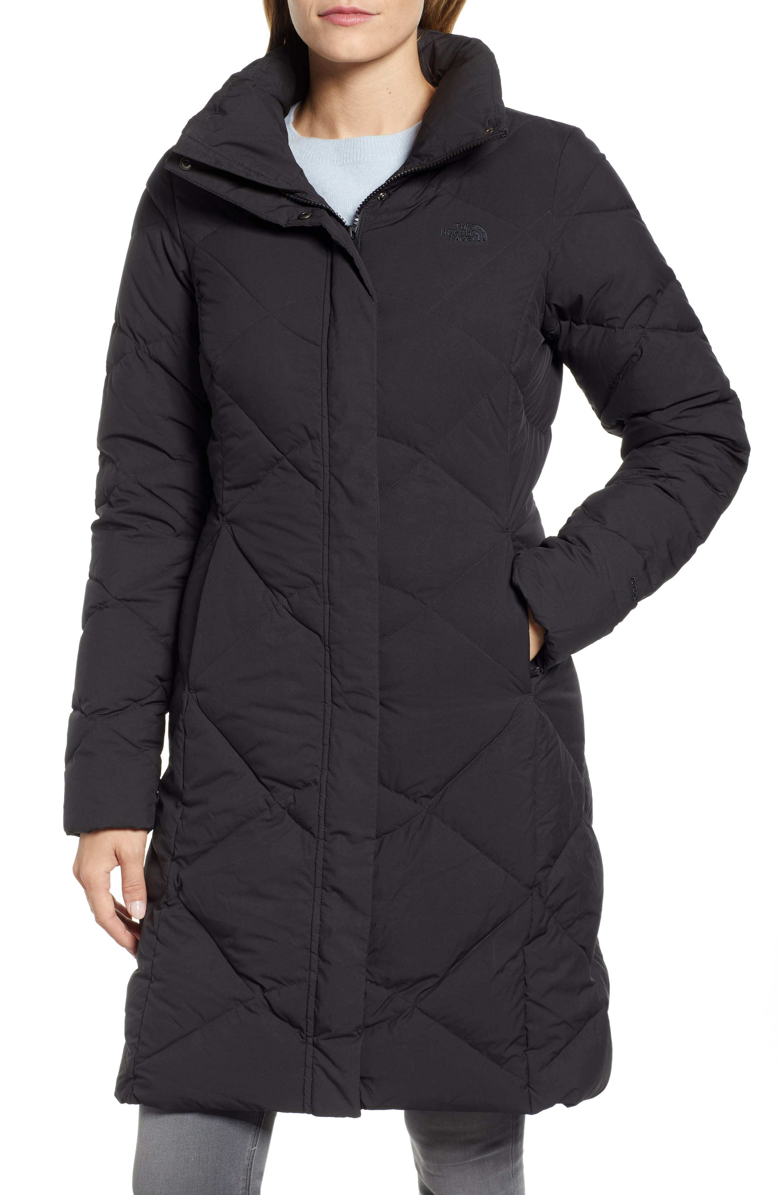 ,                             Miss Metro II Water Repellent 550 Fill Power Down Hooded Parka,                             Alternate thumbnail 5, color,                             001