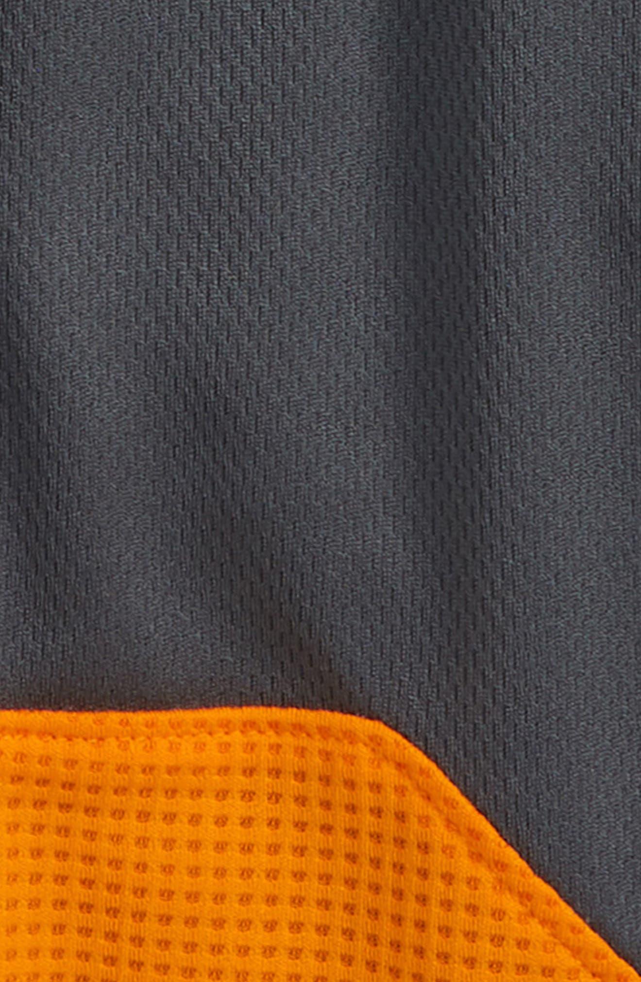 ,                             Dry Shorts,                             Alternate thumbnail 3, color,                             DARK GREY / ORANGE / WHITE