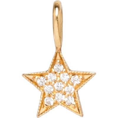 Zoe Chicco Diamond Star Charm