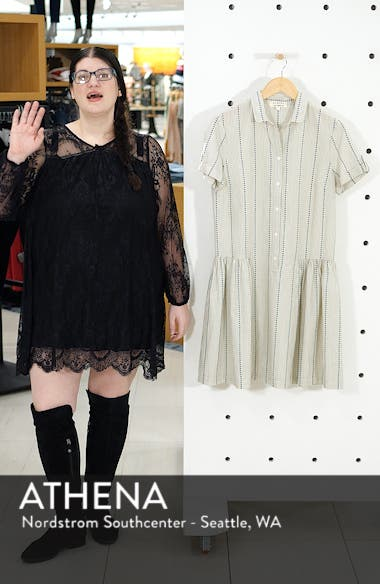 Damsel x THE ODELLS Easy Button-Up Cotton Dress, sales video thumbnail