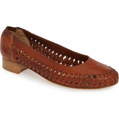 David Tate Pam Flat W - Brown