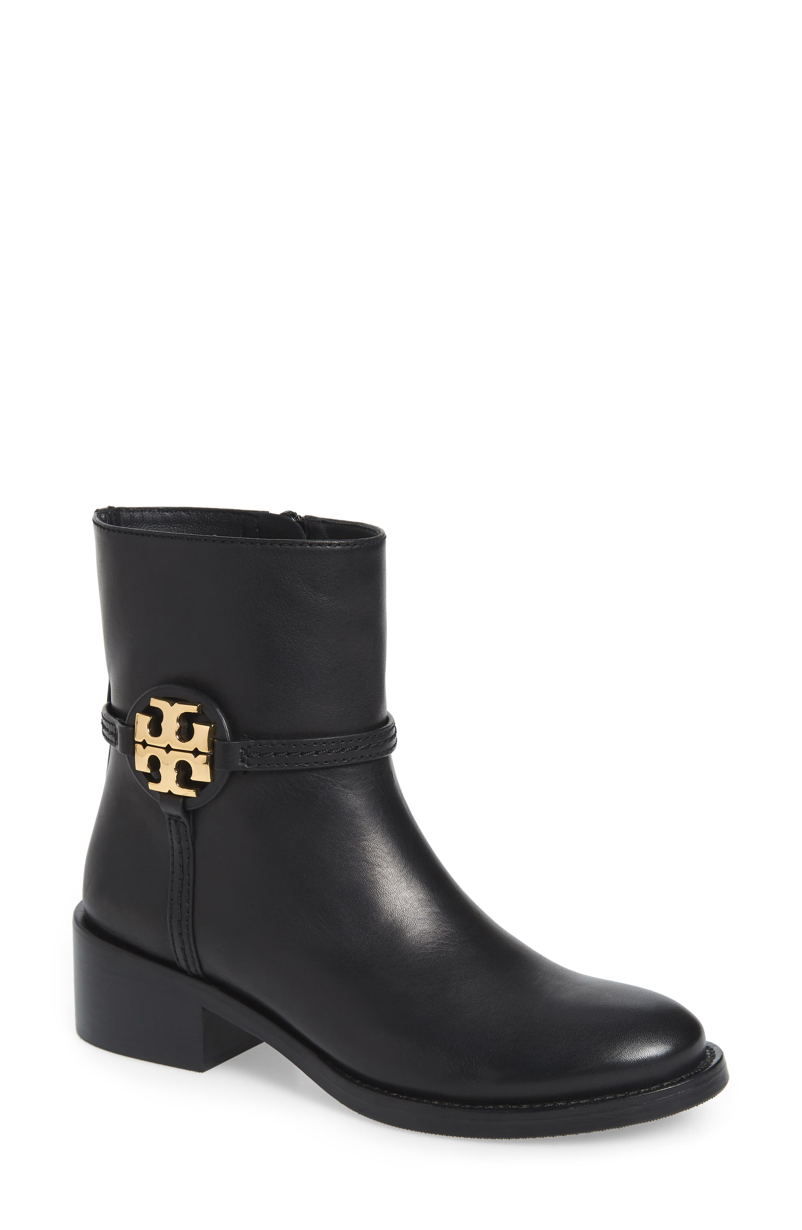 Tory Burch | Miller Logo Accent Leather