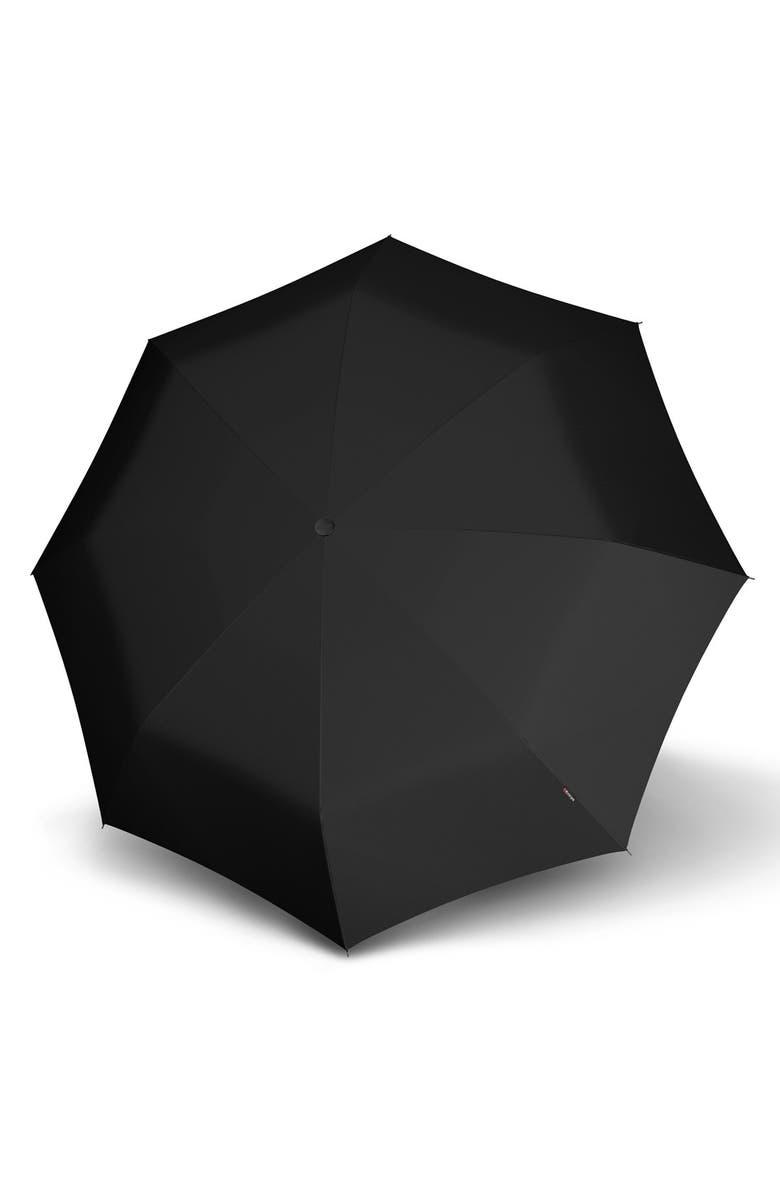 KNIRPS T200 Auto Open/Close Umbrella, Main, color, BLACK