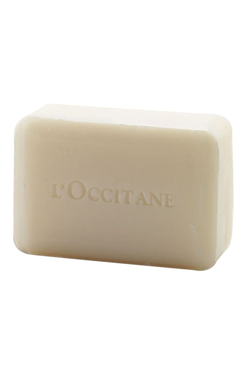 L'OCCITANE Lavender Shea Butter Extra Gentle Soap, Main, color, NO COLOR