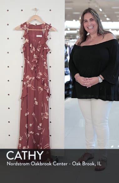 Sleeveless Ruffle Maxi Dress, sales video thumbnail