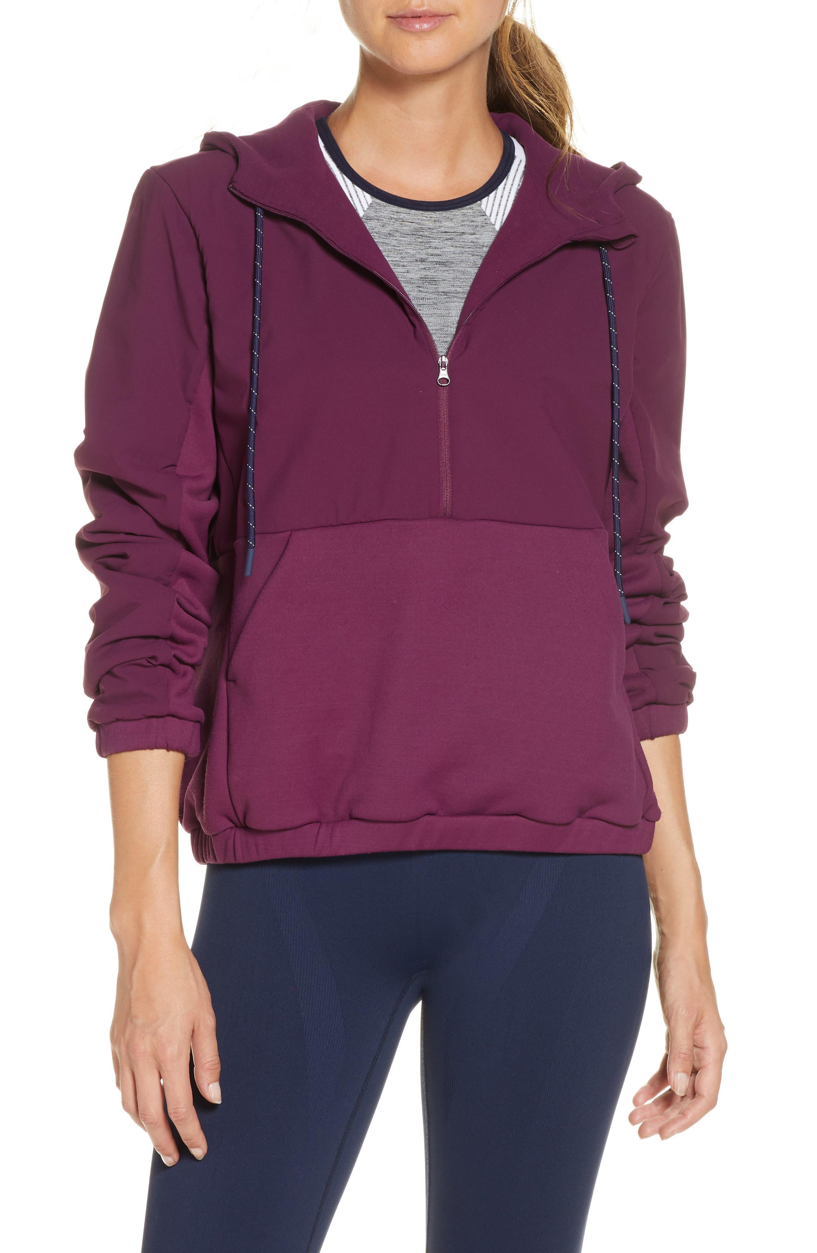 Commuter Half Zip Pullover Jacket