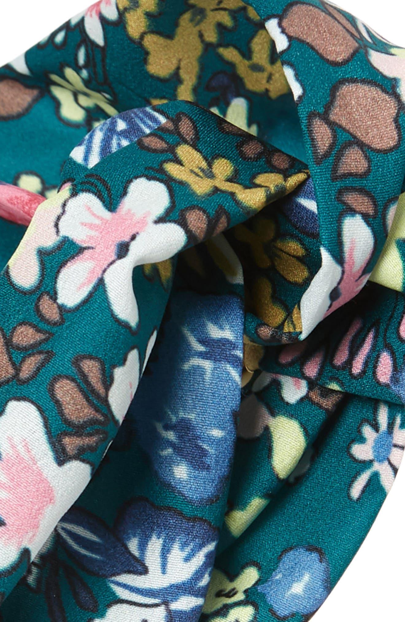 ,                             Floral Head Wrap,                             Alternate thumbnail 4, color,                             300