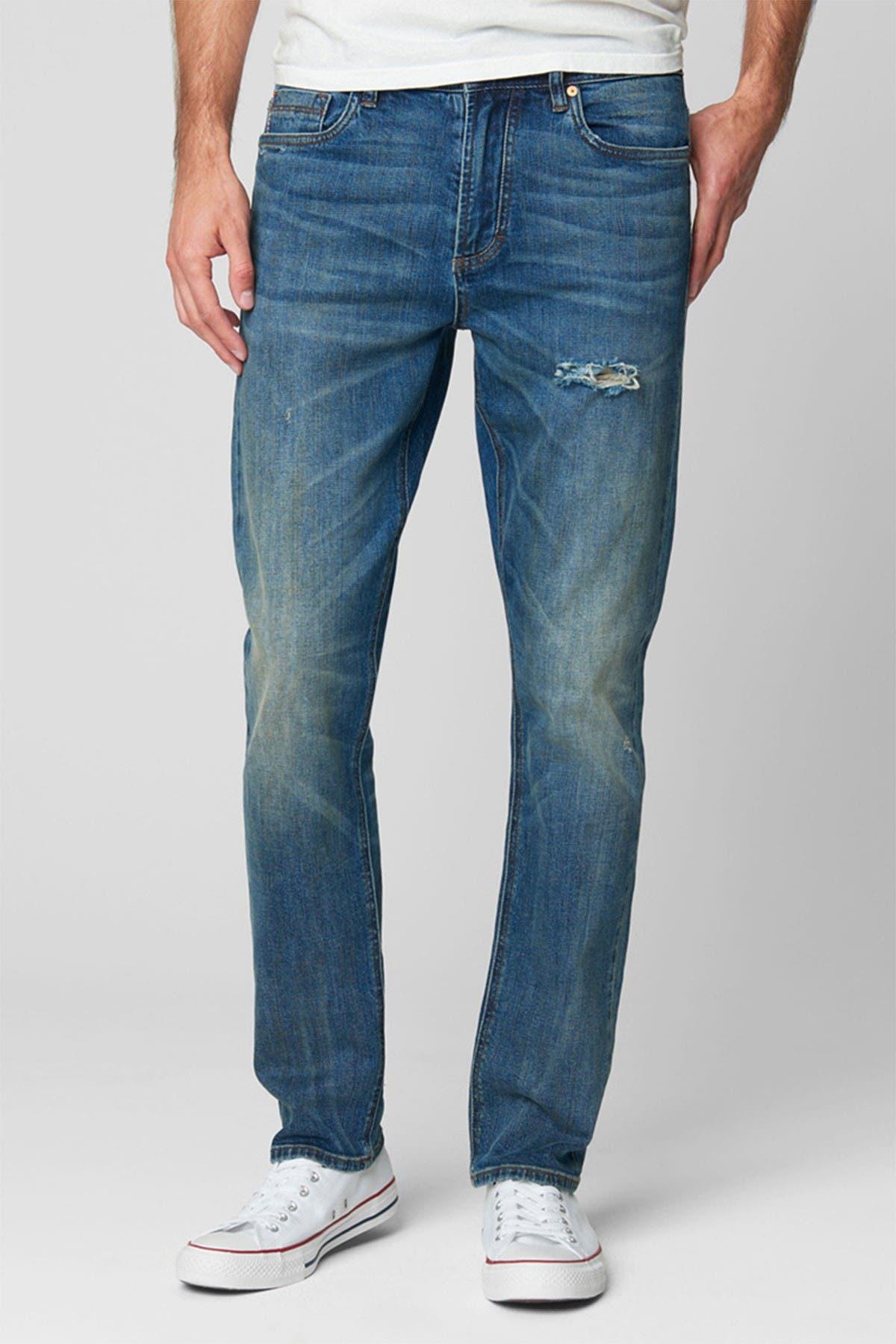 Image of BLANKNYC Denim Stanton Distressed Straight Leg Jeans