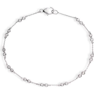 Dana Rebecca Designs Bezel Diamond Station Bracelet