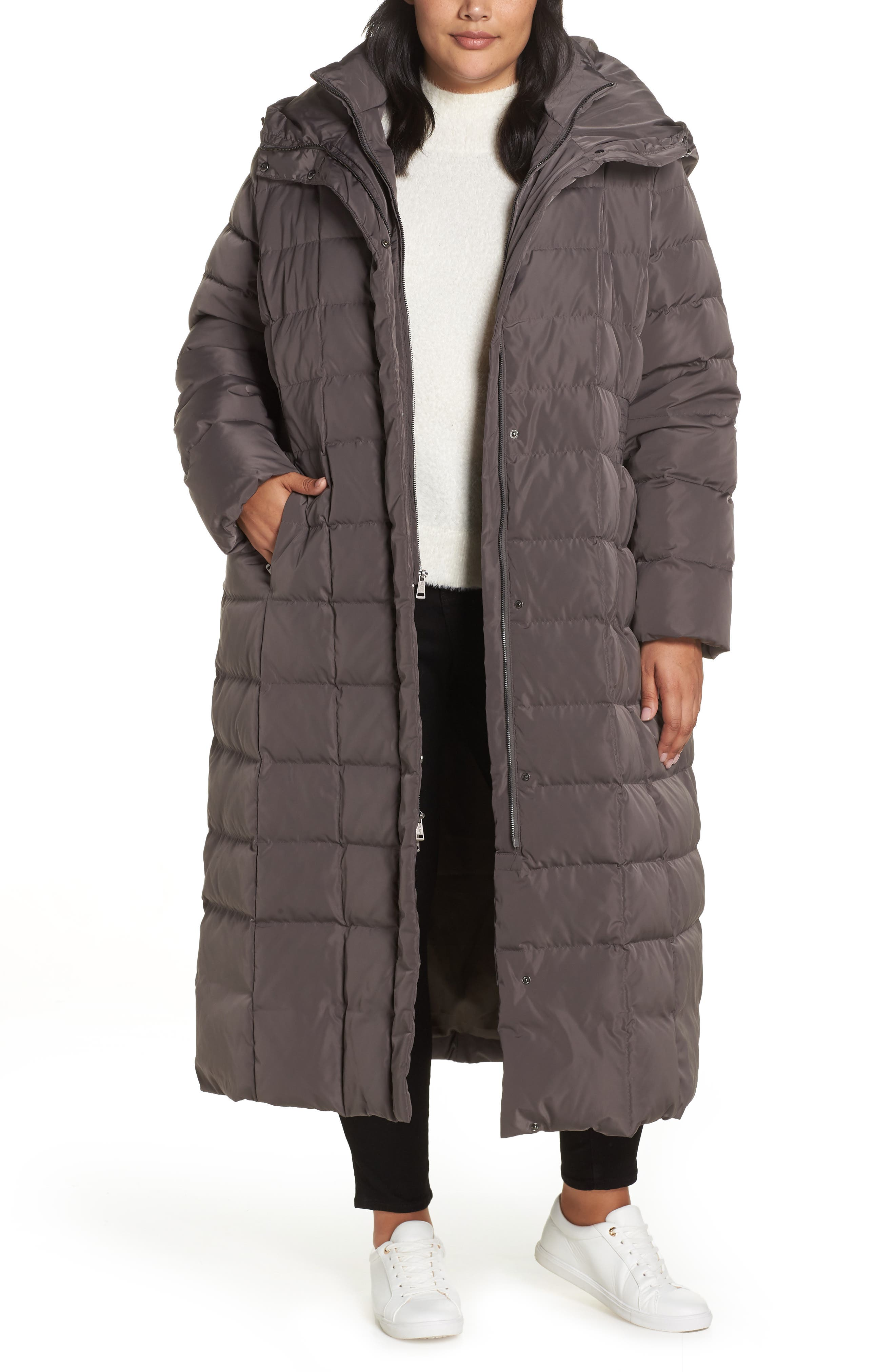,                             Quilted Coat with Inner Bib,                             Main thumbnail 8, color,                             024