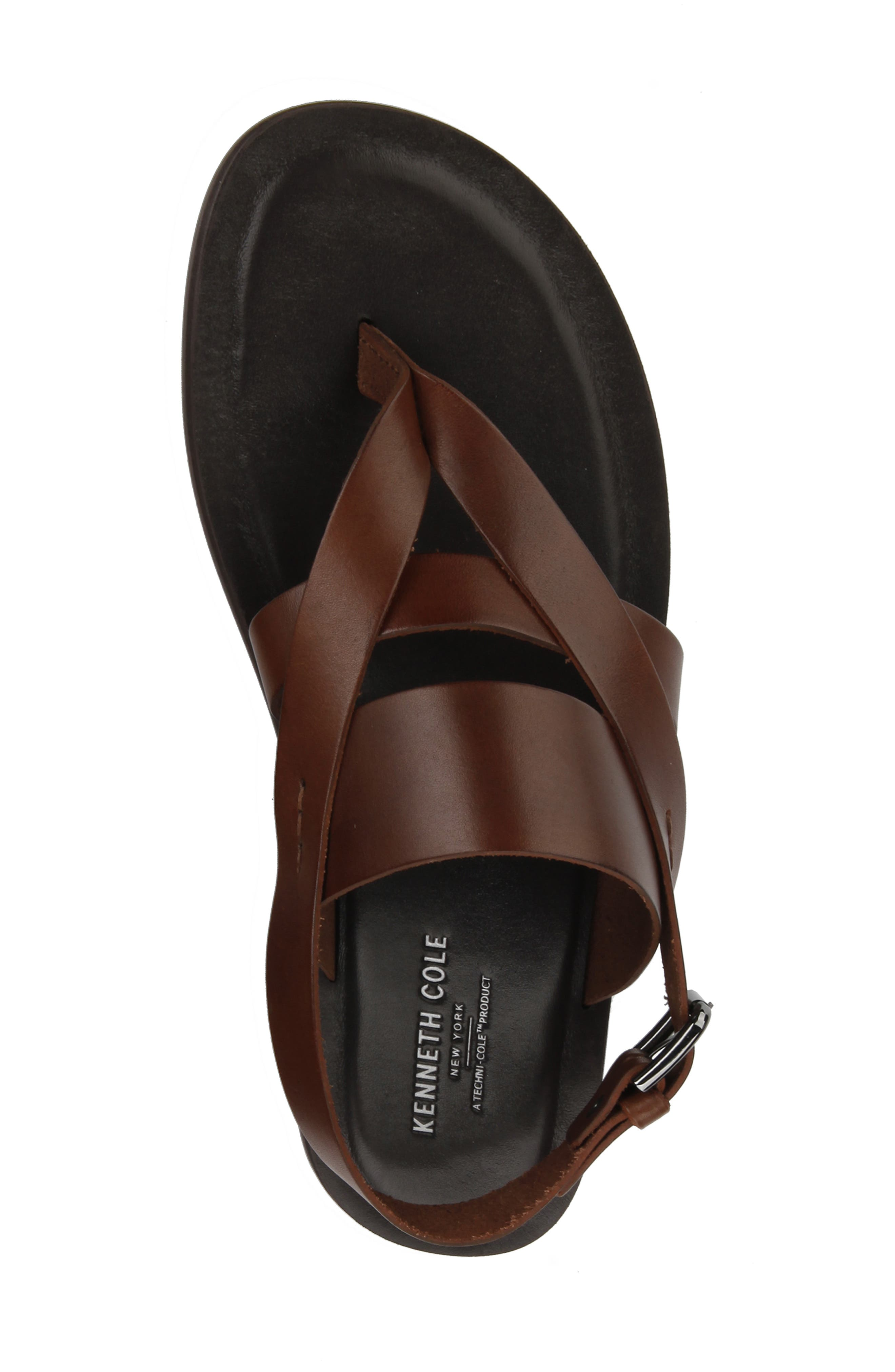 ,                             Ideal Sandal,                             Alternate thumbnail 3, color,                             BROWN LEATHER